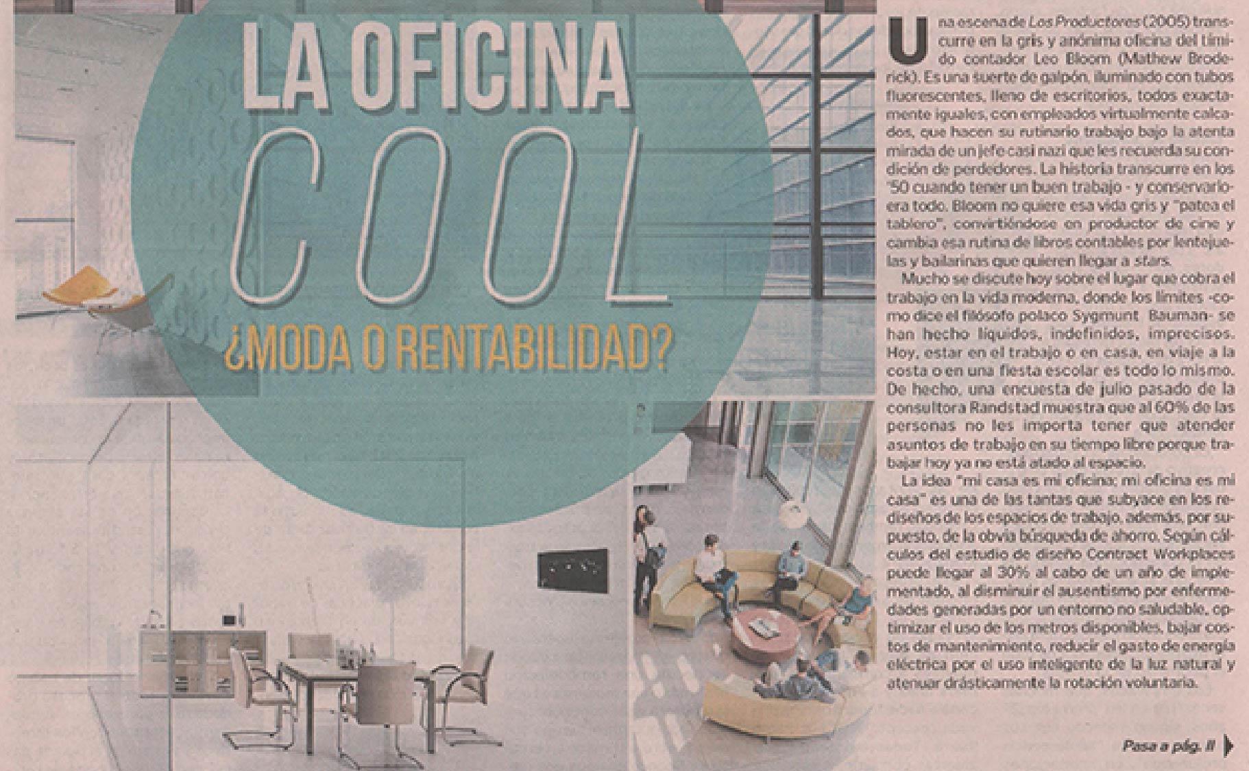 La oficina cool, ¿moda o rentabilidad?